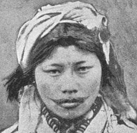 Tattooed Ainu woman Photo by Joseph Deniker