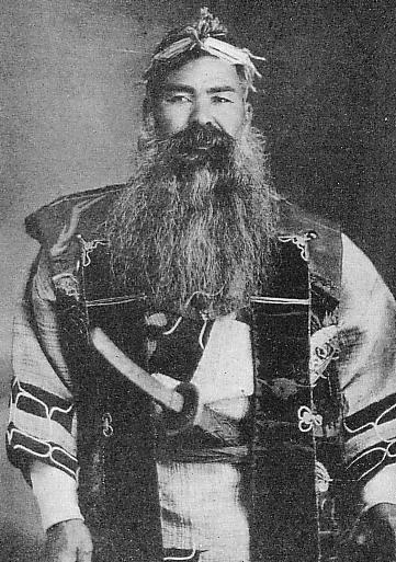 Ainu elder circa 1930