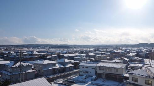 View of Hachinohe City (八戸市) in Aomori