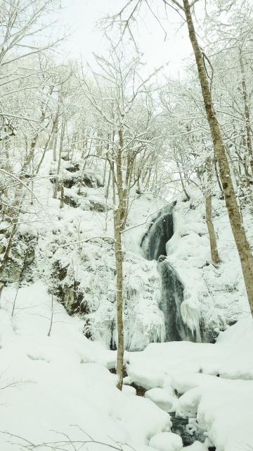 Kumo no taki in winter